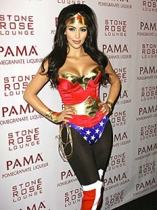 Kim does Wonder Woman (a disservice)